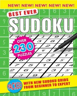 Sudoku (Best Ever 160 Spiral) (Pretty Puzzles) by Igloo Spiral bound Book The