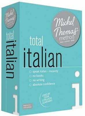 Total Italian (Learn Italian with the Michel Thoma... by Thomas, Michel CD-Audio