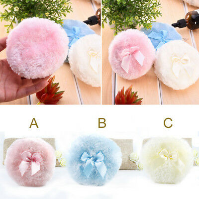 New Baby Soft Face Body Cosmetic Beauty Large Powder Puff Sponge Makeup Tool
