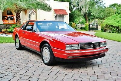 Cadillac Allante Convertible 1 Owner 1992 Cadillac Allante Convertible with Hard and Soft Top