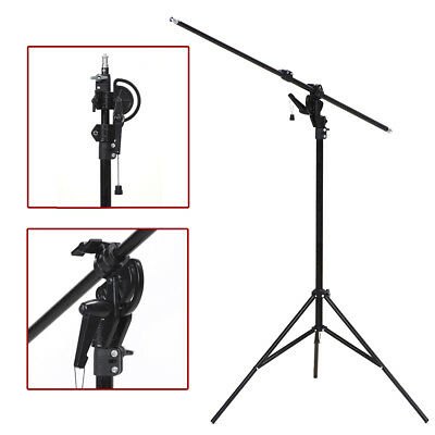"""Continuous Lighting 110"""" 2 Way Photography Rotatable Photo Studio Boom Stand"""