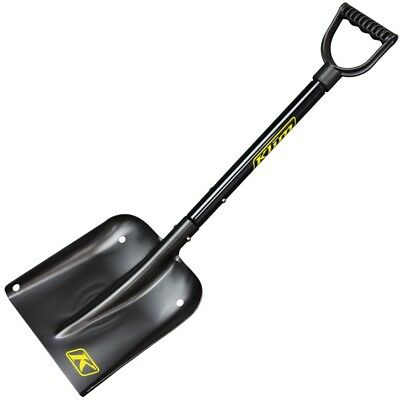 Klim Backcountry Snowmobile Mountain Aluminum Shovel & Tree Saw System - Black