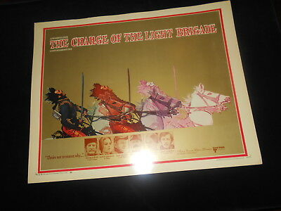 Charge Of The Light Brigade Remake  Original  Rolled Half Sheet Poster 22x28