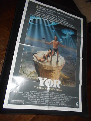 Yor The Hunter From The Future Reb Brown  Sci Fi  Original One Sheet Poster