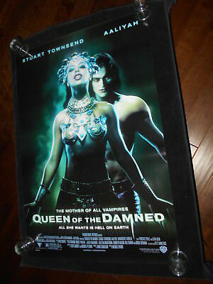 Queen Of The Damned Aaliyah  Vampire Horror Original Rolled One Sheet Poster