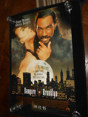 Vampire In Brooklyn Original Rolled One Sheet  DS   Horror Eddie Murphy