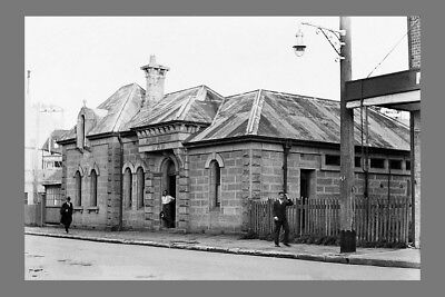 nsw MANLY 'old' Police Station c1930s modern digital Photo Postcard