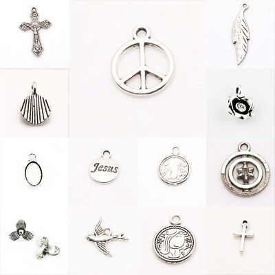 Jewelry  Beads Jewelry Making Tibetan Silver Finding Charms Pendant DIY Fashion