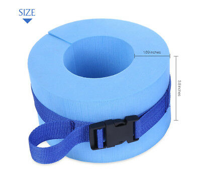 Paired Swimming Weights Aquatic Cuffs Water Aerobics for Ankles Arms Fitness AU