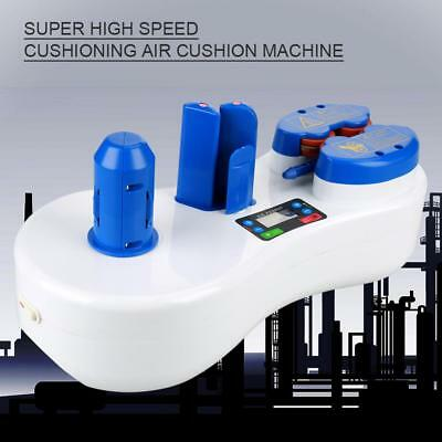 Portable Inflatable Air Cushion Maker Bubble Packaging Making Machine New