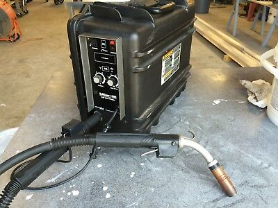 Barely Used Miller® Suitcase® 12RC Wire Feeder 951580