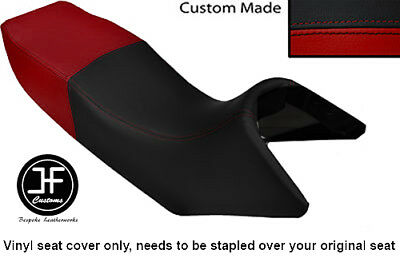 Dark Red And Black Vinyl Custom Fits Yamaha Tdr 125 Dual Seat Cover Only