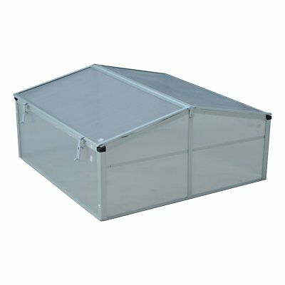 Outsunny 3 Ft. W x 3 Ft. D Cold-Frame Greenhouse