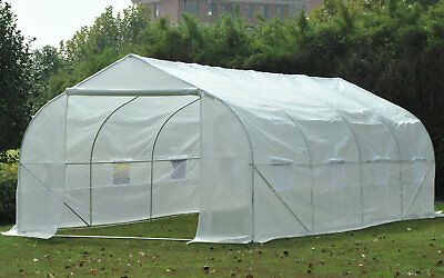 Outsunny 9.41 Ft. W x 19.5 Ft. D Commercial Greenhouse