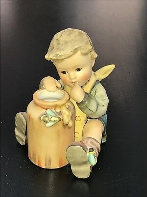 "Goebel Hummel 312/I Honey Lover Exclusive 15 Year Club Edition 3 3/4"" Tall"