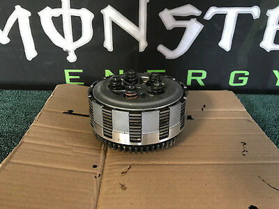07 2007 Yz250F Clutch Assembly Primary Driven Gear Complete Basket Hub Plate