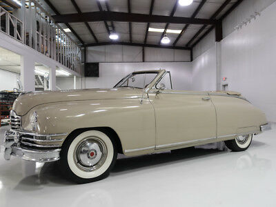 1949 Packard Super Eight Victoria Convertible | Only 41,152 original miles! 1949 Packard Super 8 Victoria Convertible | Original interior | 327ci Straight-8