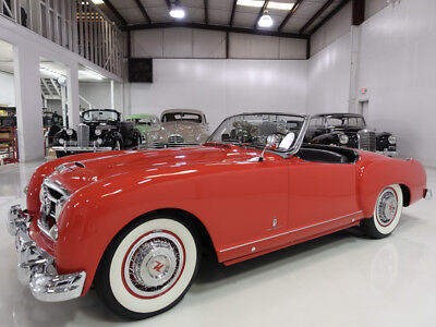 1952 Nash-Healey Roadster   28,665 believed-to-be actual miles 1952 Nash-Healey Roadster   Rare   1 of 150 built   Prior collector ownership