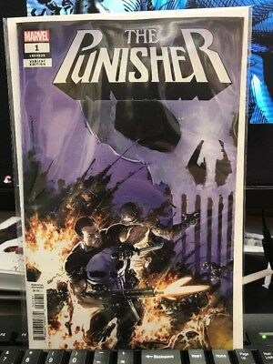 Punisher (2018) #1 1:25 Clayton Crain Variant