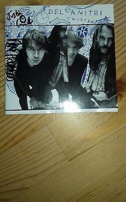 Del Amitri Twisted CD Album Sleeve Hand Signed Autographed By Justin And Iain
