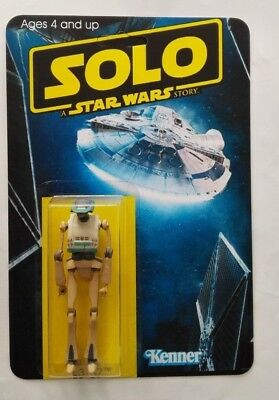 Solo A Star Wars Story Stunning Custom Made L3-37 Droid Action Figure Wow! Cool