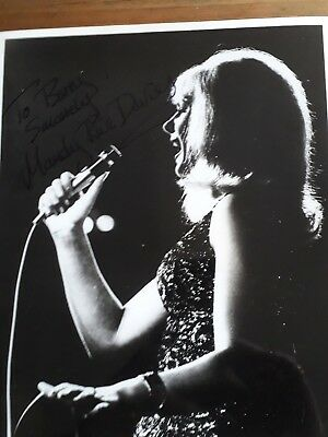 Autograph 10X8 Photo Signed By  Mandy Rice Davies