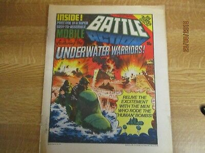 November 25th 1978, BATTLE ACTION, John Mills, Dick Emery, Underwater warriors.