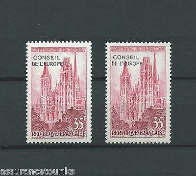 France Service - 1958 Yt 16 - Timbres Neufs** Mnh Luxe