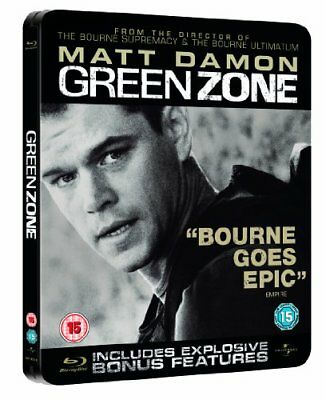 Green Zone Limited Edition Steelbook [Blu-ray] [Region Free] -  CD FQVG The Fast