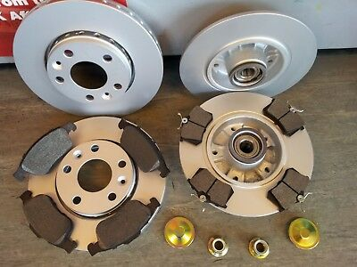 MK2 RENAULT MEGANE FRONT BRAKE DISCS /& PADS 1.5 1.6 1.9 /'05-08 NEW COATED DESIGN