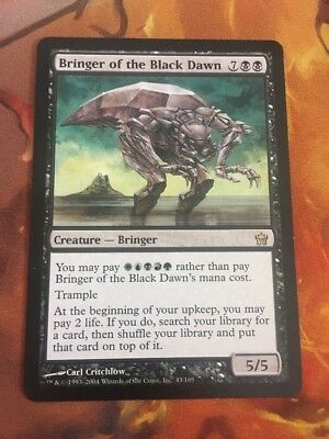 Bringer Of The Black Dawn - Mtg Magic Card
