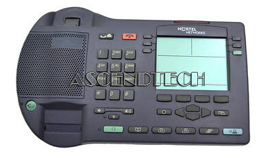 Nortel Networks I2004 Ip Ether Gray Office Display Telephone Ntex00Ba Unit Only