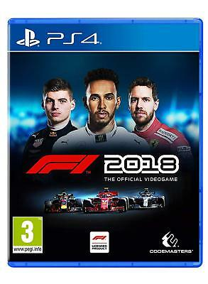 F1 2018 Formel 1 2018 Headline Edition - PS4 Playstation 4 - NEU OVP - lieferbar