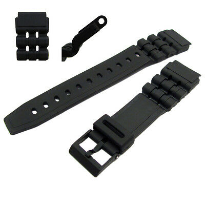 Watch Band 19mm to fit Casio W89, W727