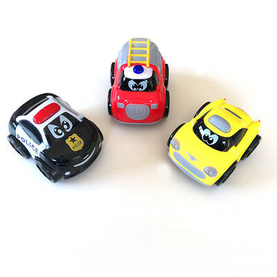 Push and Go Friction Powered Car Toys Early Educational Toddler Baby Toys Sets