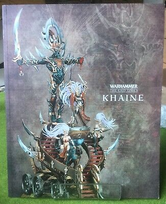 Warhammer End Of Times - Khaine Supplement Book (REF 1) - Exc Con Free Post!
