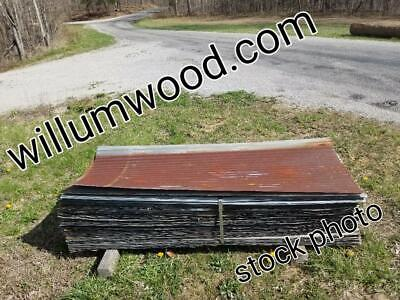 *reclaimed Corrugated Metal Tin Roofing *please Read Entire Description*