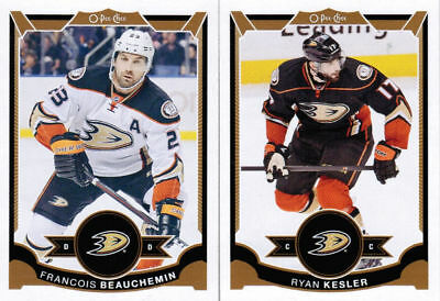 15/16 2015 O-PEE-CHEE OPC HOCKEY BASE TEAM SETS (ANA-WIN) U-Pick Team From List