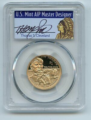 2018 S $1 Sacagawea Dollar PCGS PR69DCAM First Strike Thomas Cleveland Native