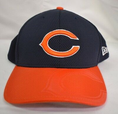 online store 6b97d 97201 New Era 39Thirty NFL Mens Chicago Bears On-Field Sideline Hat Cap NWT M