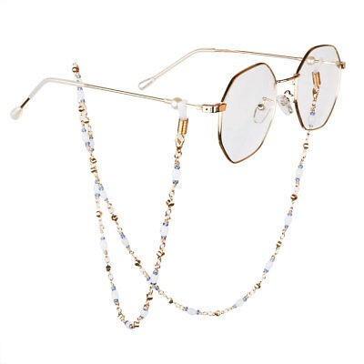 Beaded Eyeglass Reading Spectacles Retainer Glasses Cord Holder Chain Lanyards