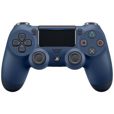 PS4 Midnight Blue Dualshock 4 Wireless Controller [Sony]