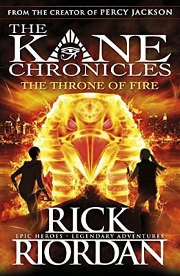 The Throne of Fire (The Kane Chronicles Book 2)-Rick Riordan