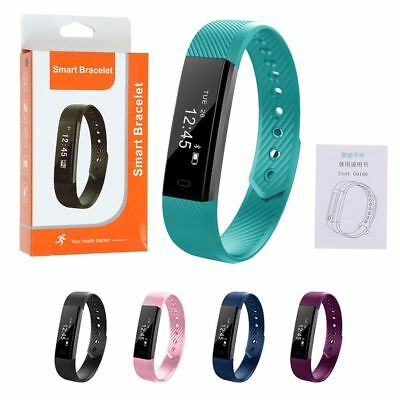 Brand New Fitbit Style Waterproof Fitness Activity Tracker Smart Watch~ID115