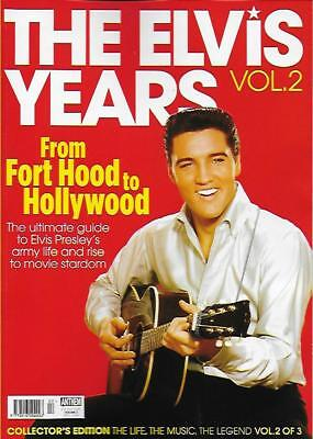 THE ELVIS YEARS MAGAZINE - Vol.2 (NEW/) *Post included to UK/Europe/USA/Canada