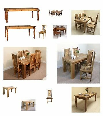 Solid Wood Dining Table Chairs Sets Mantis Indian Baku by Mercers Furniture