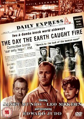 The Day The Earth Caught Fire [DVD] [1961] -  CD 22VG The Fast Free Shipping
