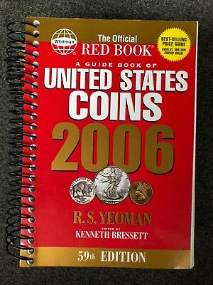 New 2006 Spiral Red Book United States Coins 59th Edition By Kenneth Bressett