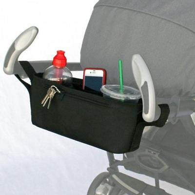 Useful Infant Baby Strollers Cup Holder Safe Console Tray Pram Hanging Bag Y2
