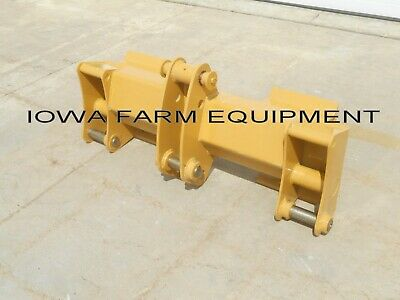 TLB, Tractor Loader Backhoe Pin-On to Skid Steer Quick Attach Adapter